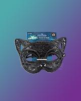 George black Halloween cat mask