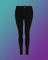 Black ultimate stretch skinny jeans