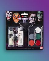 Halloween monster makeup kit
