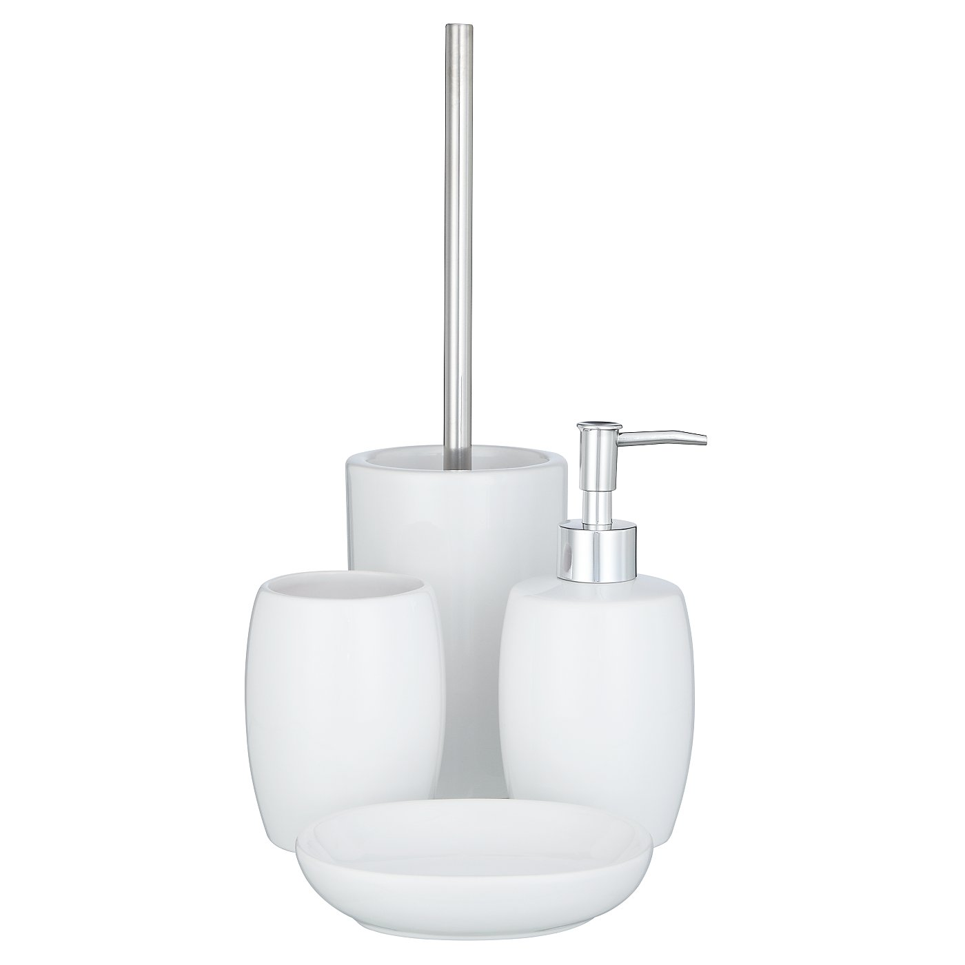 white ceramic bath accessories range bathroom interior design - White Bathroom Accessories Ceramic