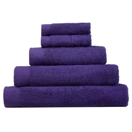 George Home 100% Cotton Towel Range - Violet