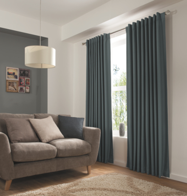 George Home Grey Hidden Tab Top Blackout Curtains | Curtains U0026 Blinds |  George At ASDA