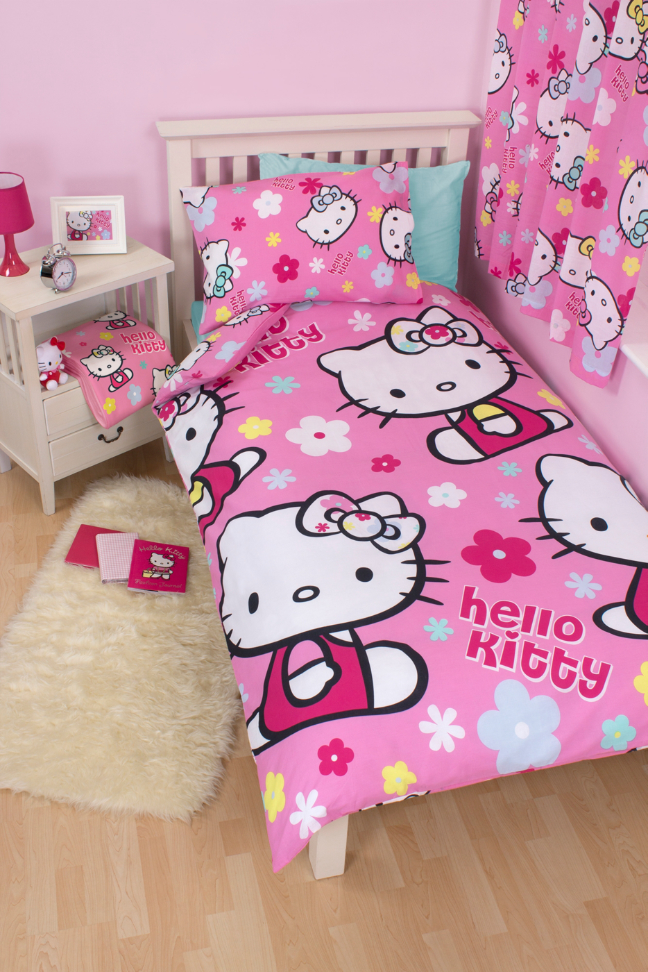 Hello Kitty Bedroom Range Kids Beds