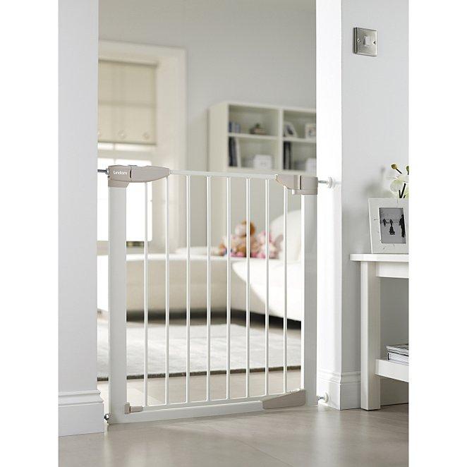 Lindam Sure Shut Orto Stair Gate Baby George At Asda