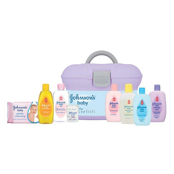 Johnson's Baby Essentials Box