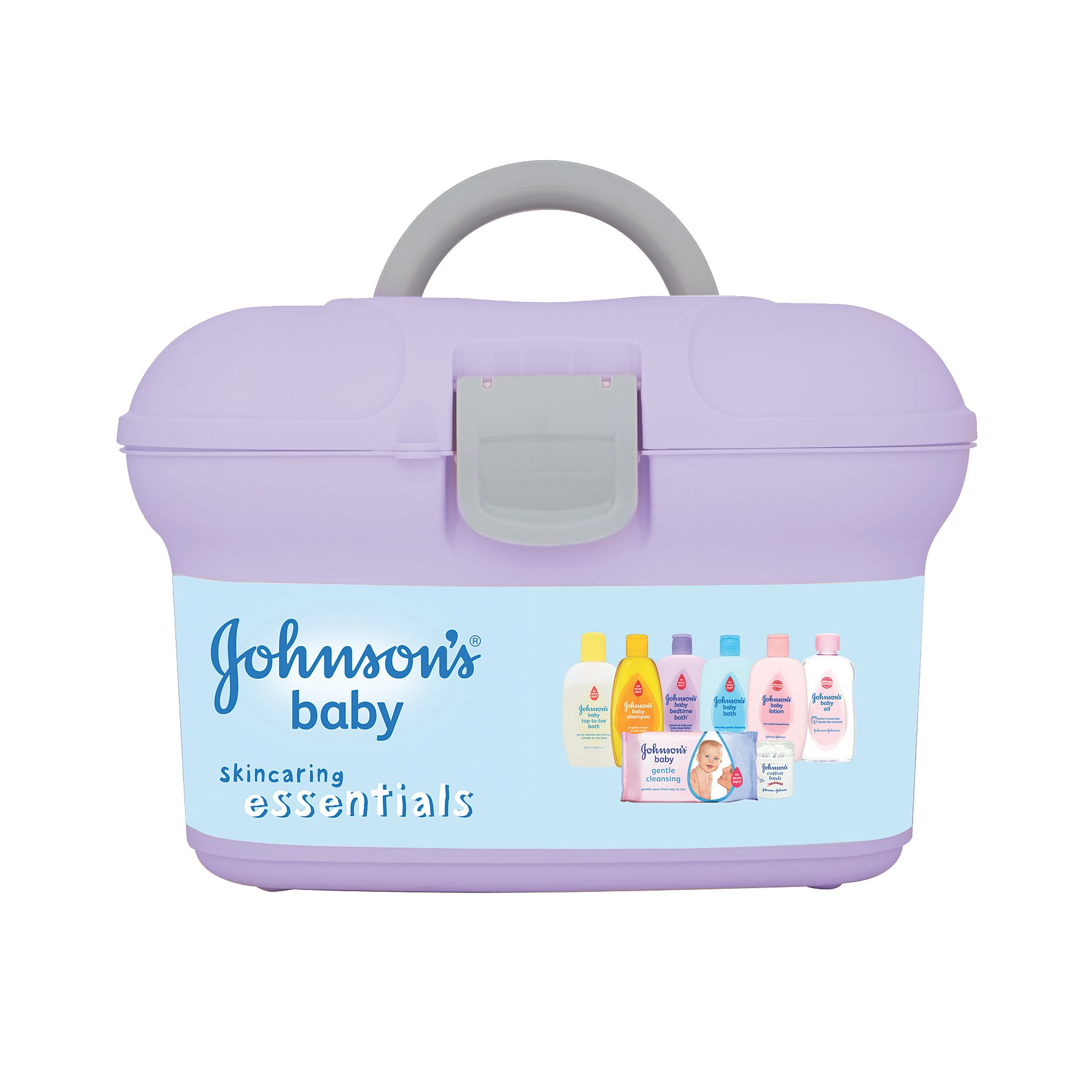 Johnson's Baby Essentials Box. Reset