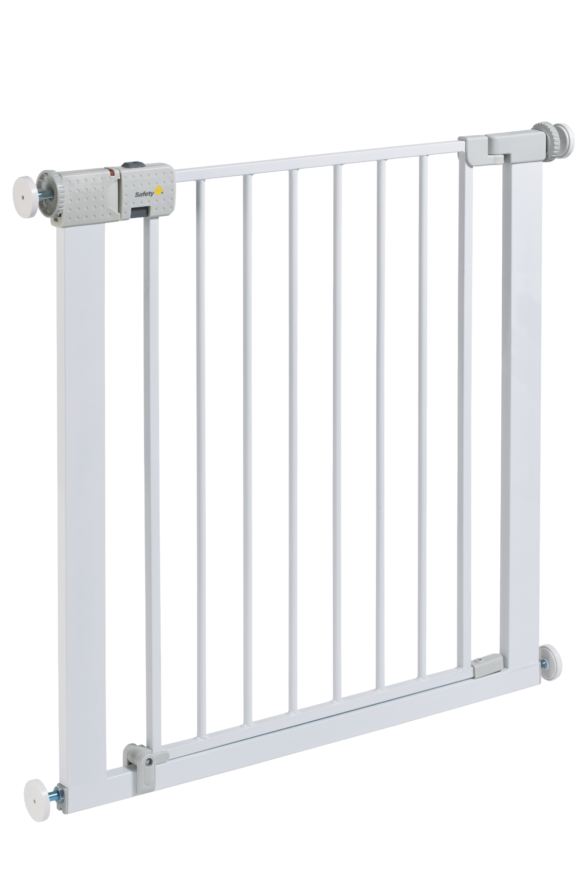 Safety 1st Securtech Metal White Gate Baby George