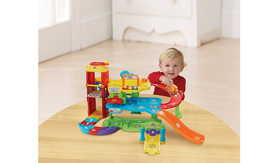 Vtech Toot Toot Drivers Garage And Tow Truck Kids