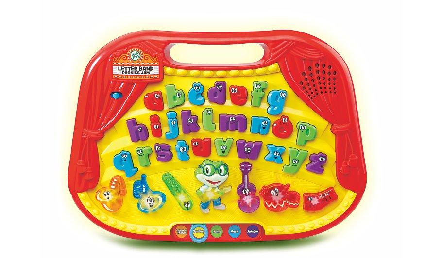 Leapfrog Letter Band Phonics Jam Toys Character George