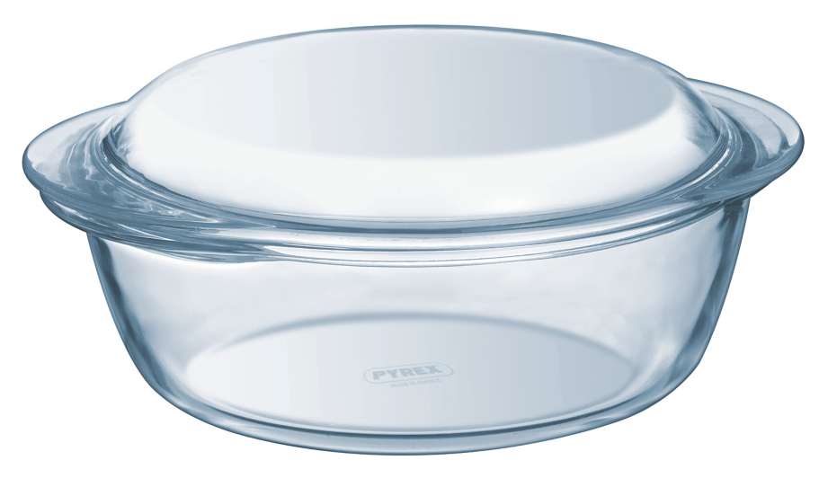 pyrex essentials glass casserole dish 1 litre | ovenware | george at