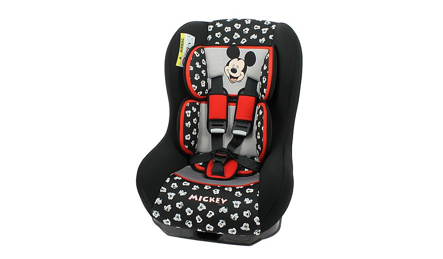 Disney Mickey Mouse Group 0 1 Driver Car Seat Baby George