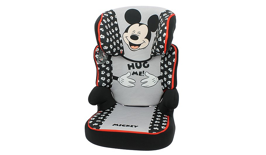 Disney Mickey Mouse Group 2/3 Befix High Back Booster Seat | Baby ...