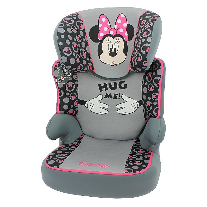 Disney Group 23 Befix High Back Booster Seat Minnie Mouse