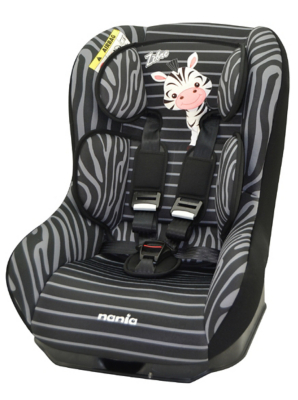 Nania Group 01 Driver Car Seat - Zebra
