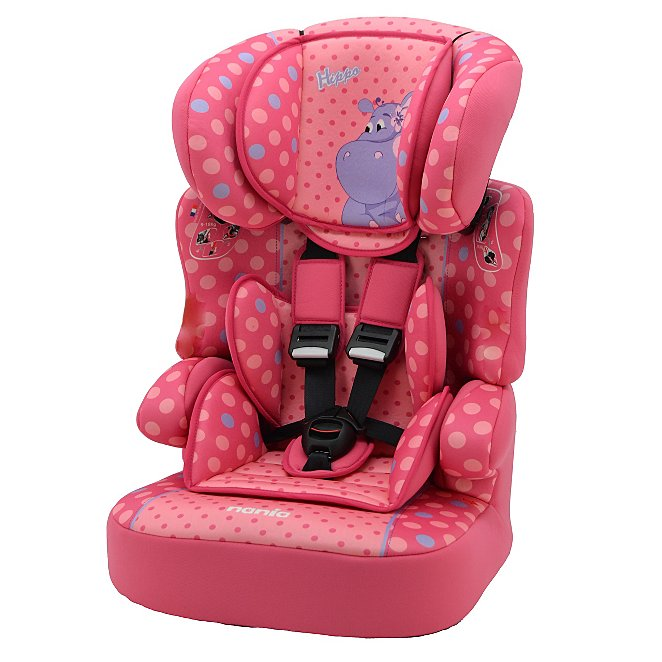 675ccf55cbeb Nania Group 123 Beline High Back Booster Seat with Harness - Hippo ...