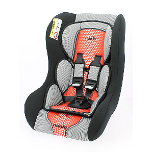 Nania Group 0/1/2 Trio Pop Red Car Seat | Baby | George
