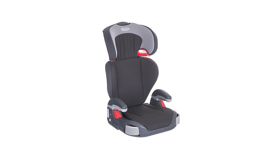 graco junior maxi group 2 3 high back booster car seat baby george at asda. Black Bedroom Furniture Sets. Home Design Ideas