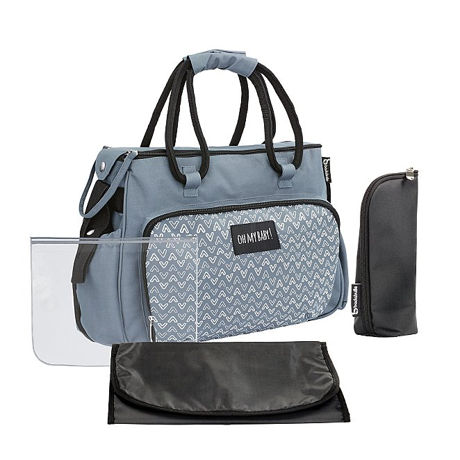 d01993135d860 Boho Changing Bag - Grey | Baby | George
