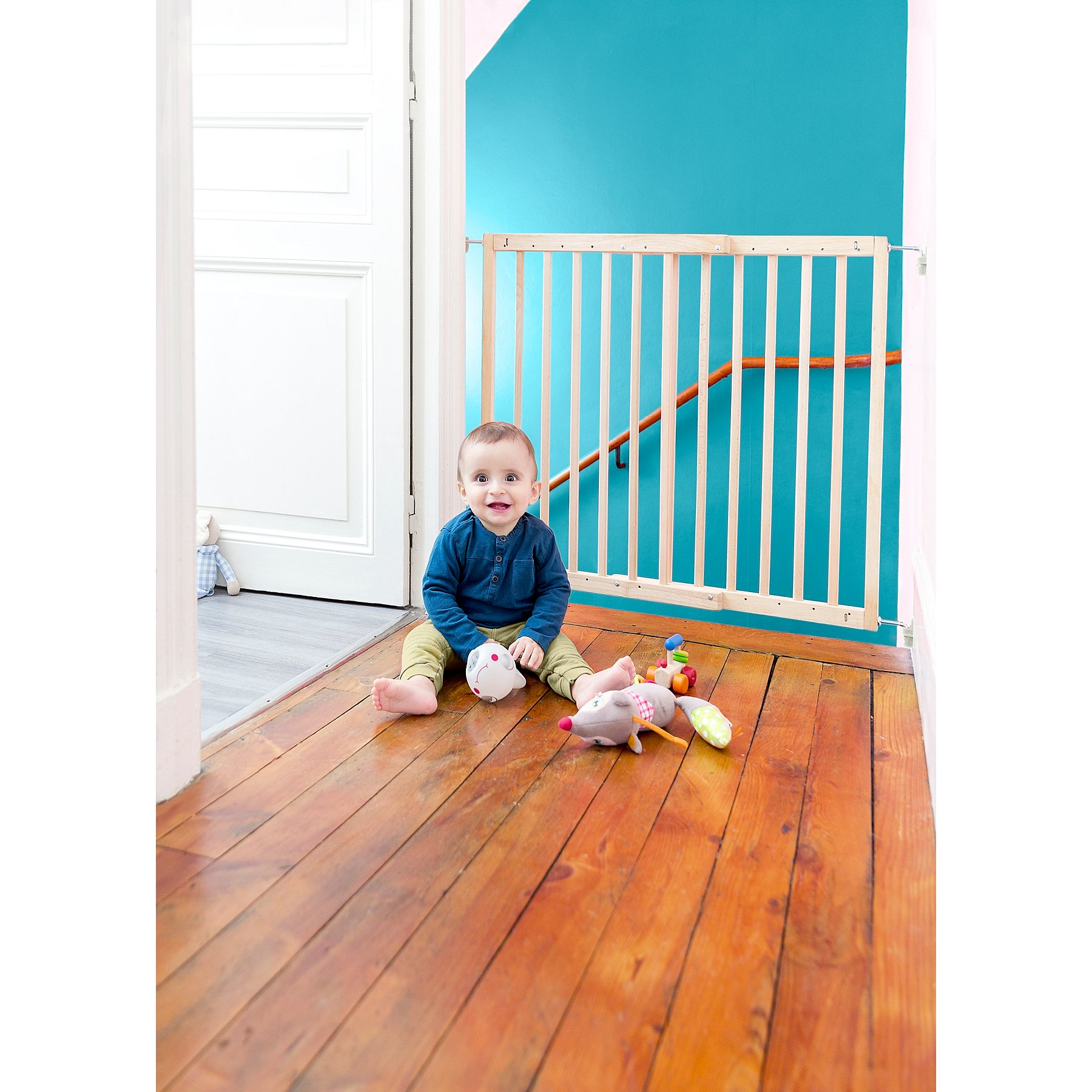 Badabulle Safety Gate Color Pop Baby George