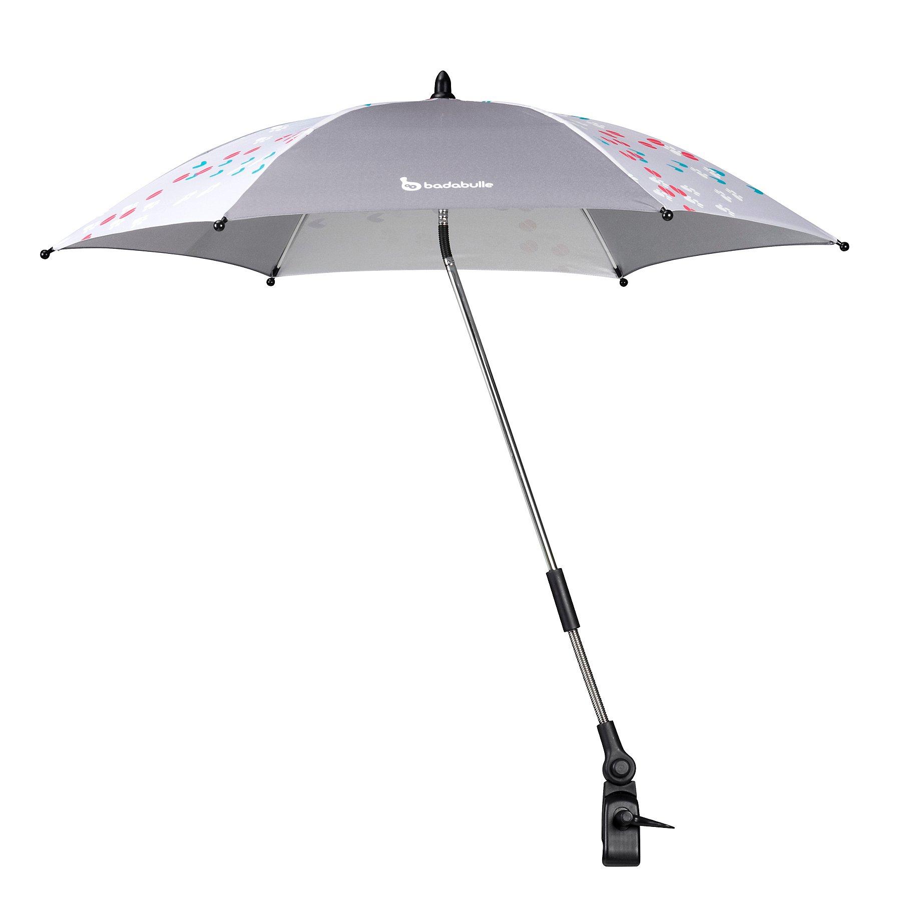 Badabulle Uv Parasol Umbrella Grey