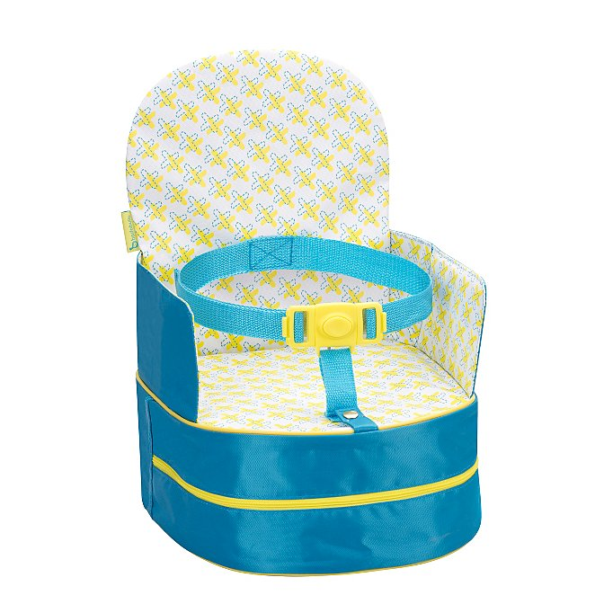 Badabulle Portable Feeding Booster Seat Blue