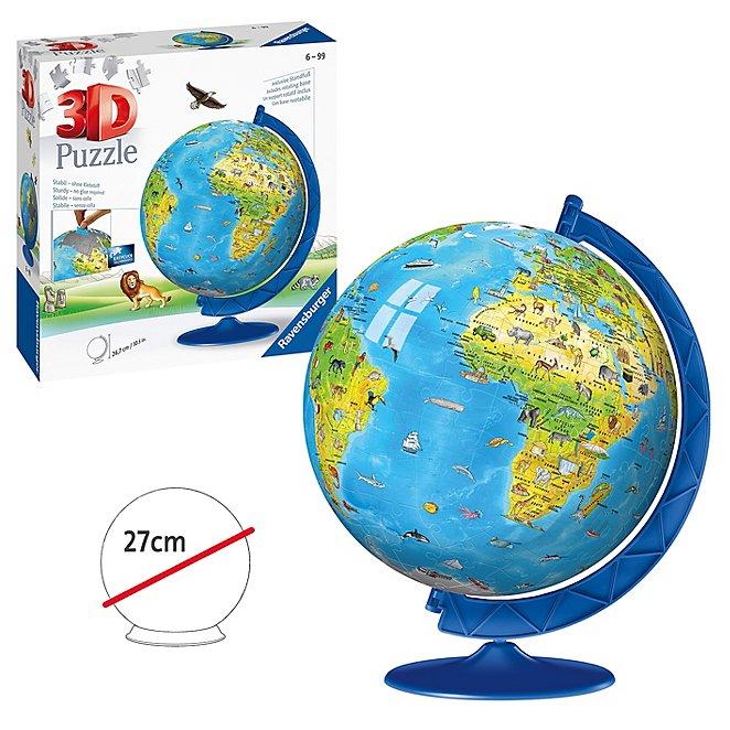 Ravensburger Children\'s World Globe 3D Jigsaw