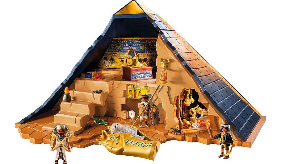 playmobil pharaoh 39 s pyramid 5386 kids george at asda. Black Bedroom Furniture Sets. Home Design Ideas