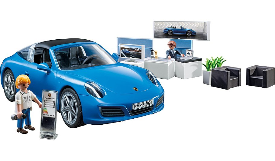 playmobil porsche 911 targa 4s 5991 kids george at asda. Black Bedroom Furniture Sets. Home Design Ideas
