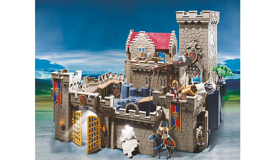playmobil lion knights castle best price best lion 2017. Black Bedroom Furniture Sets. Home Design Ideas