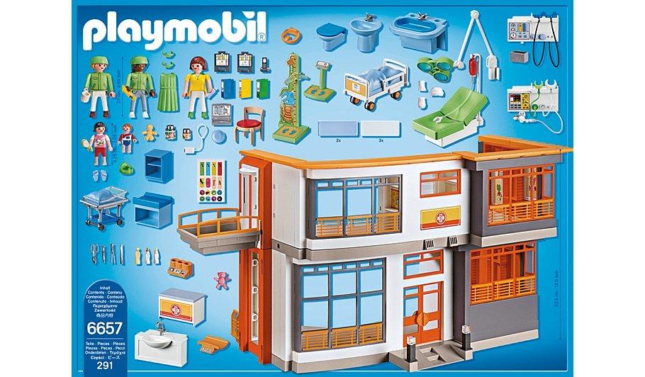 Playmobil Children S Hospital Kids George At Asda