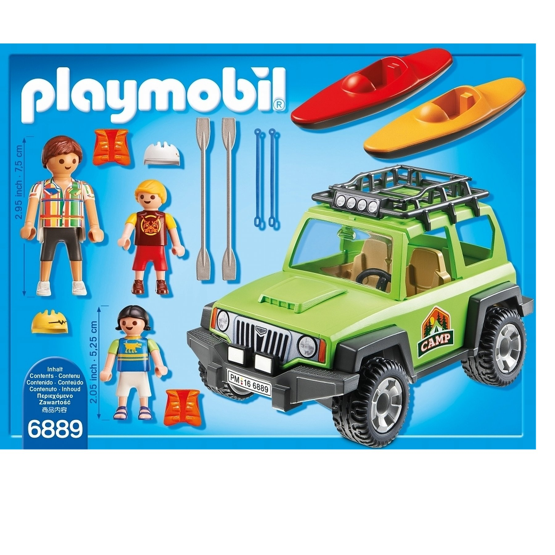 Road Playmobil Off Summer 6889 Fun Suv bf76gy