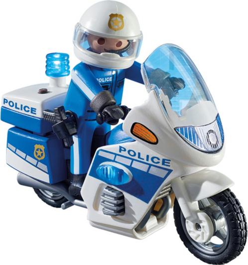 Playmobil Police Bike with LED Light 6923 | Kids
