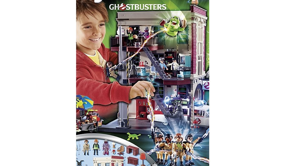 playmobil ghostbusters fire headquarters 9219 toys character george. Black Bedroom Furniture Sets. Home Design Ideas