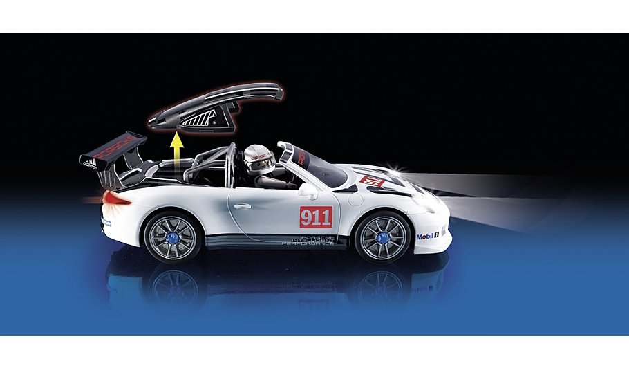 playmobil porsche 911 gt3 cup 9225 toys character george. Black Bedroom Furniture Sets. Home Design Ideas