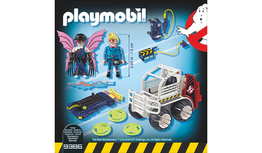 Playmobil Ghostbusters Cage Vehicle 9386