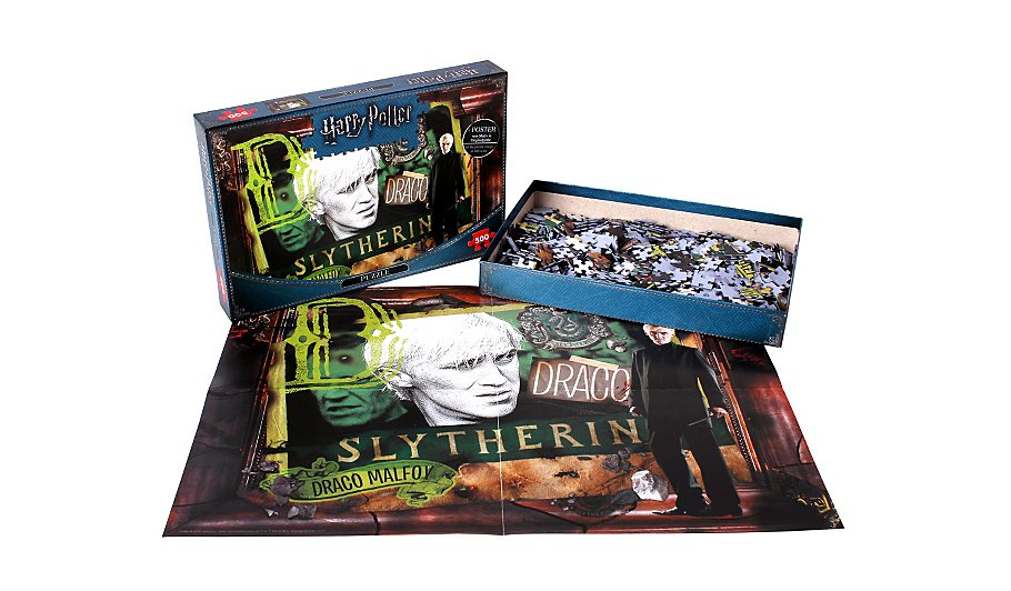 Harry Potter Slytherin 500 Piece Jigsaw Puzzle   Toys & Character ...