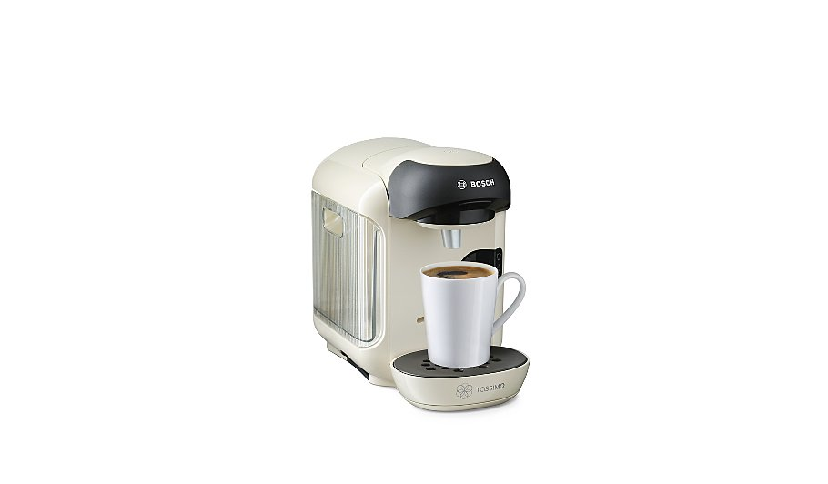 George Home Coffee Maker : Bosch Tassimo TAS1257GB Vivy Coffee Machine - Cream Home & Garden George at ASDA