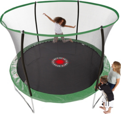Sportspower 10 ft Quad Lok Tr&oline with Easi Store Enclosure and Flash Zone | Tr&olines u0026 Bouncy Castles | George at ASDA  sc 1 st  George - Asda & Sportspower 10 ft Quad Lok Trampoline with Easi Store Enclosure ...