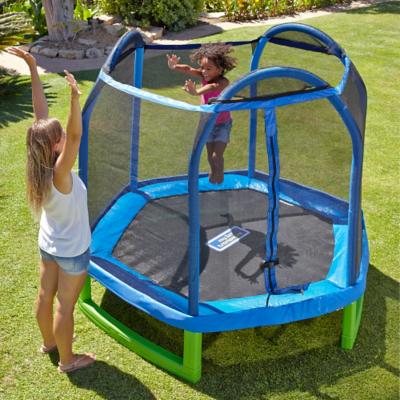-Hide details  sc 1 st  George - Asda & Sportspower 7FT My First Trampoline u0026 Enclosure | Kids | George at ...