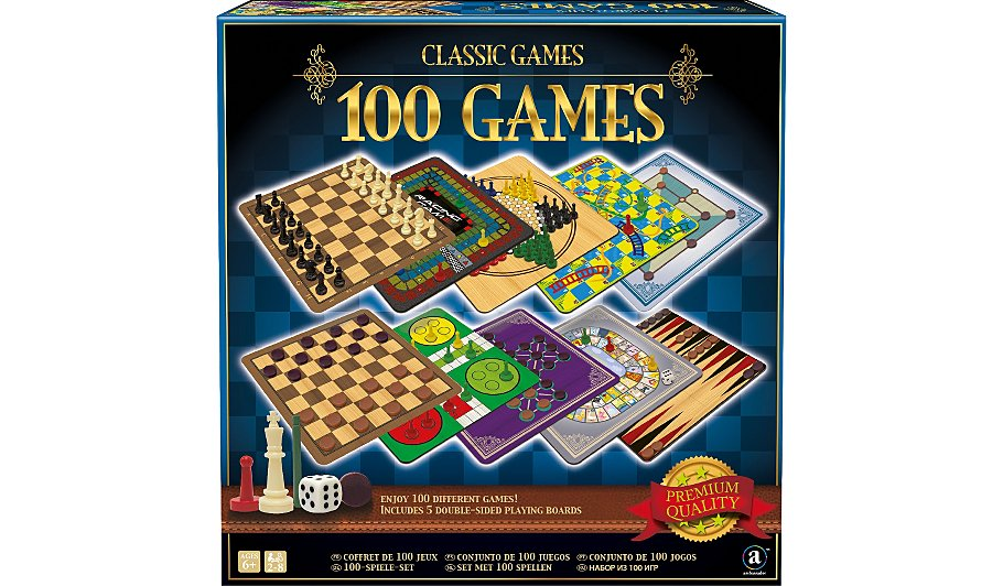 Classic Games Collection - 100 Game Set | Kids | George at ...