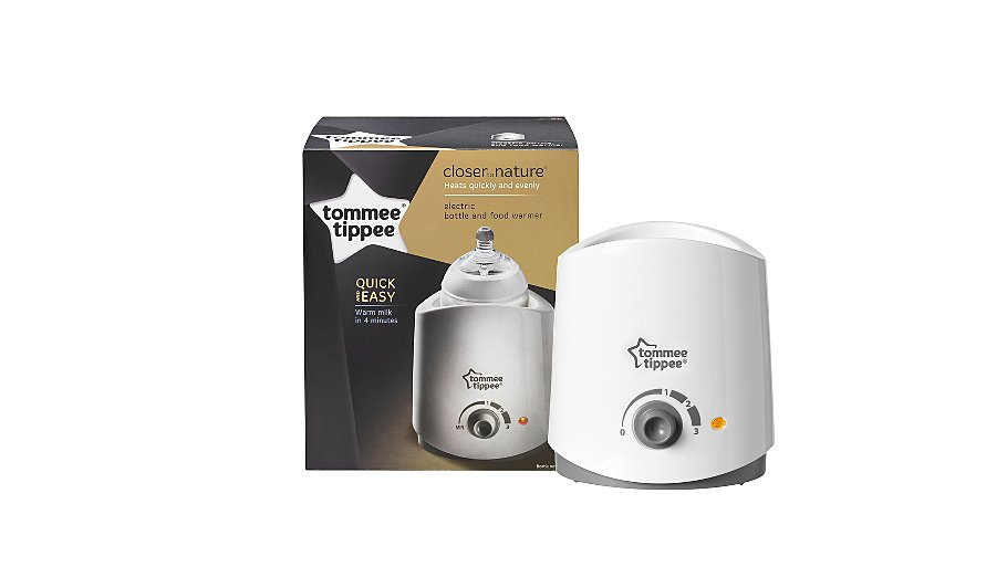 Tommee Tippee Closer To Nature Electric Bottle Food Warmer Baby