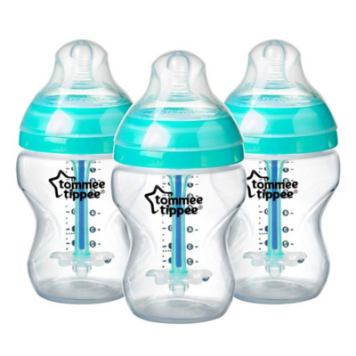 Tommee Tippee Advanced Anti-Colic 260ml Bottle 3 Pack