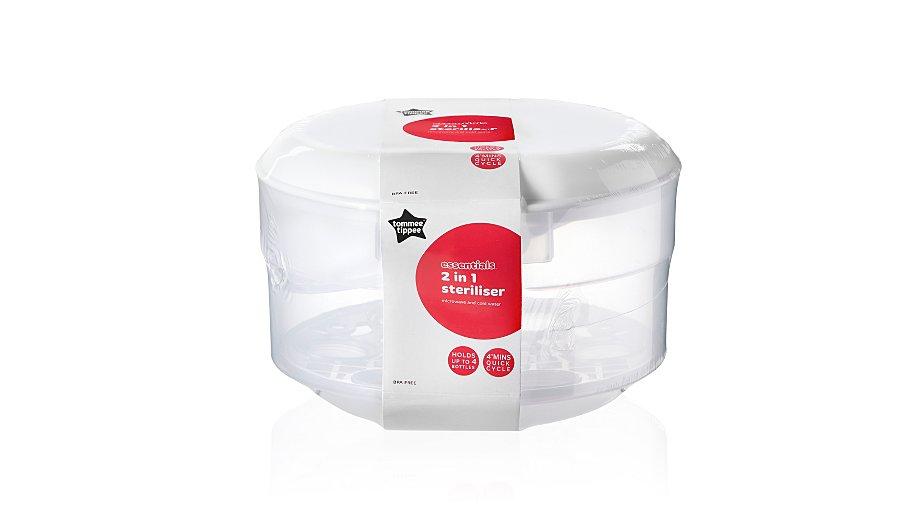 Tommee Tippee Essential Basics Microwave Steriliser Baby George