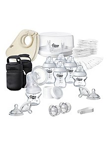 09524ae560e9a Tommee Tippee Breast & Bottle Feeding Essentials Kit