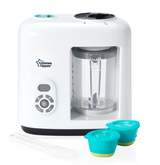 Tommee Tippee Baby Food Steamer Blender Baby George