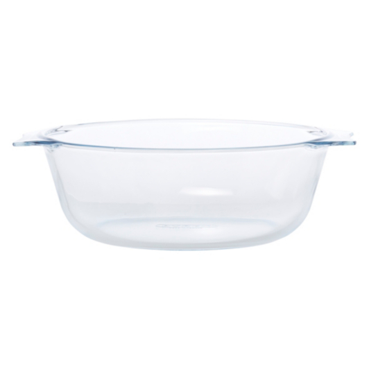 pyrex essentials glass casserole dish 2.3 litre | ovenware | george