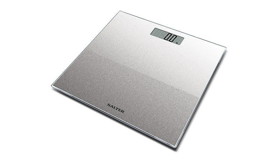 Salter Electronic Bathroom Scales - Silver Glitter | Bathroom ...