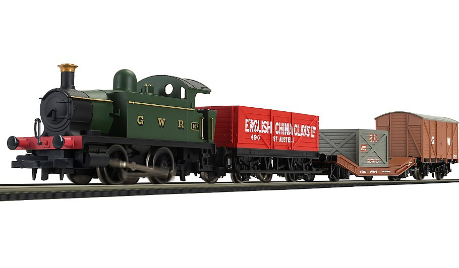 Cool Toy Train Cars : Hornby western freight hauler train toys character