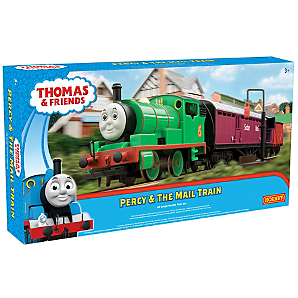 Thomas Friends Percy And The Mail Train Set