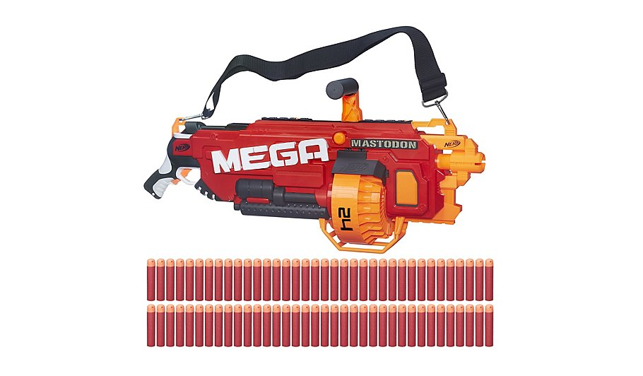 nerf n strike mega mastodon blaster toys character george